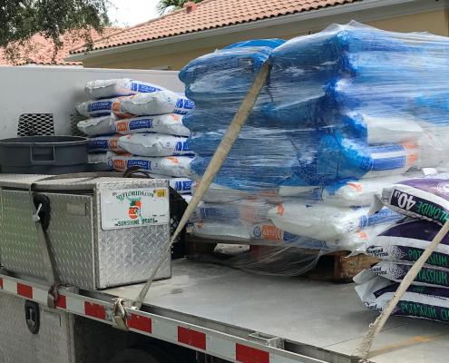 Salt deliveries PBG
