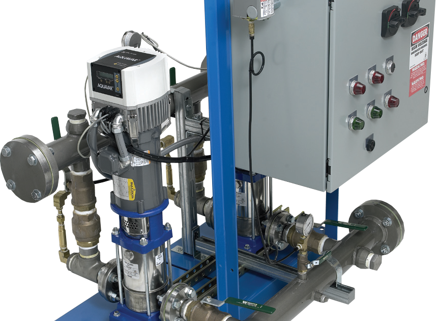 goulds-Commercial Booster Pump System